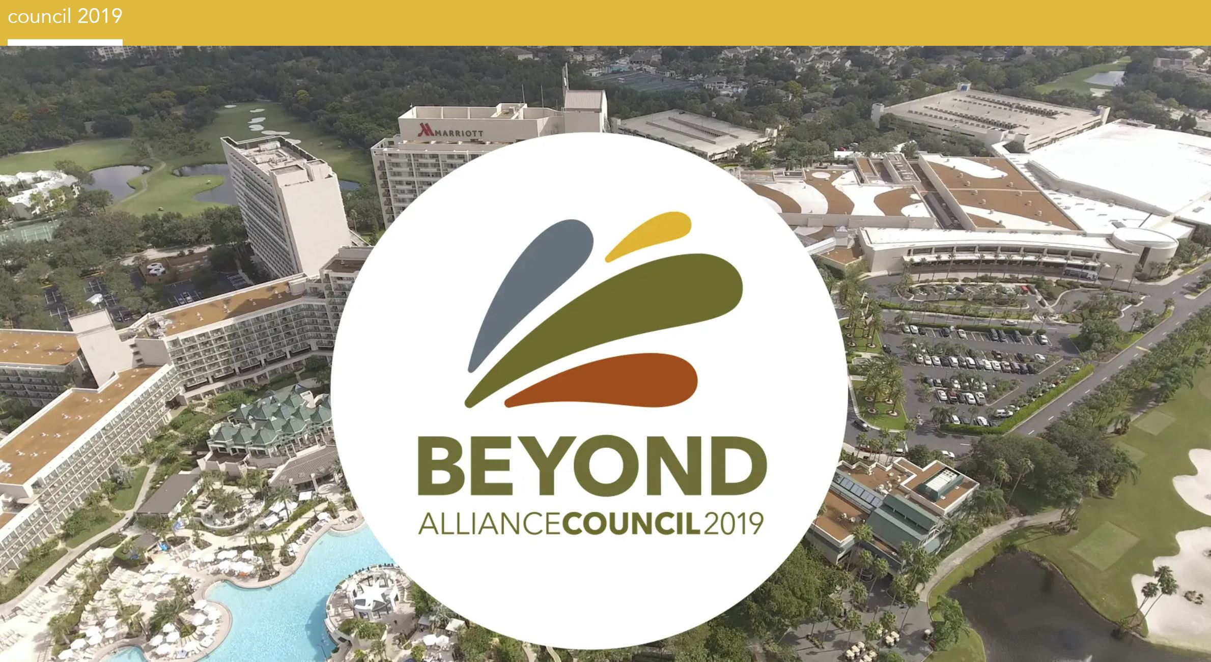 Join us at Alliance Council in Orlando, FL